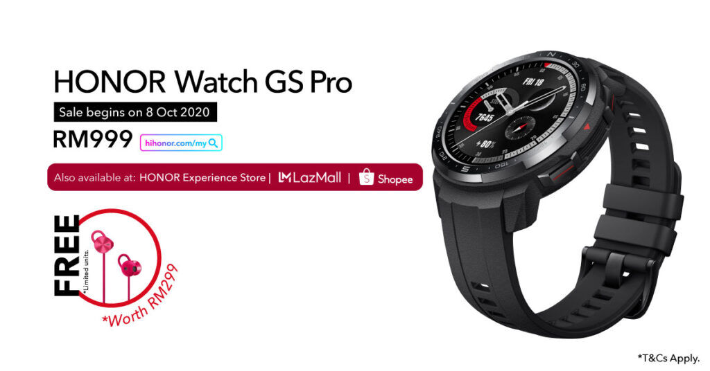 HONOR Watch GS Pro cover