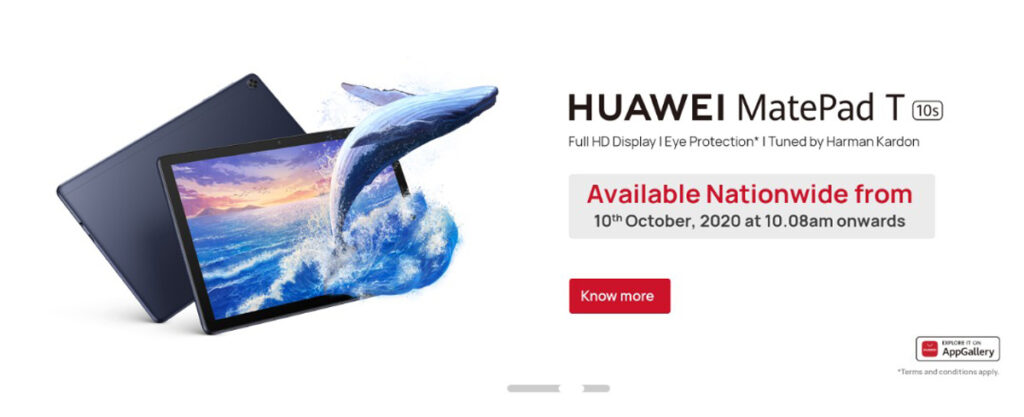 HUAWEI FreeBuds Pro, HUAWEI GT 2 Pro And MatePad T 10s Coming This 10 October 24