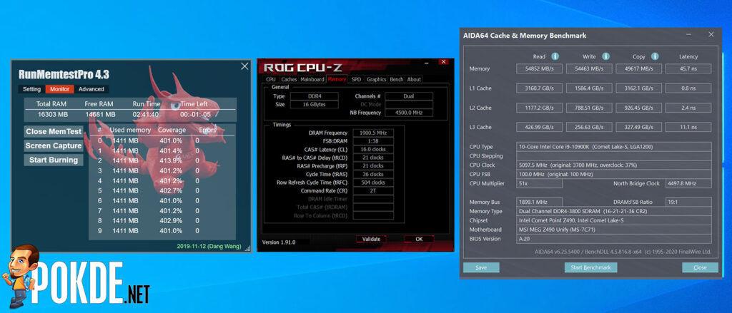 KLEVV BOLT XR Review DDR4 3800MHz CL16 overclock
