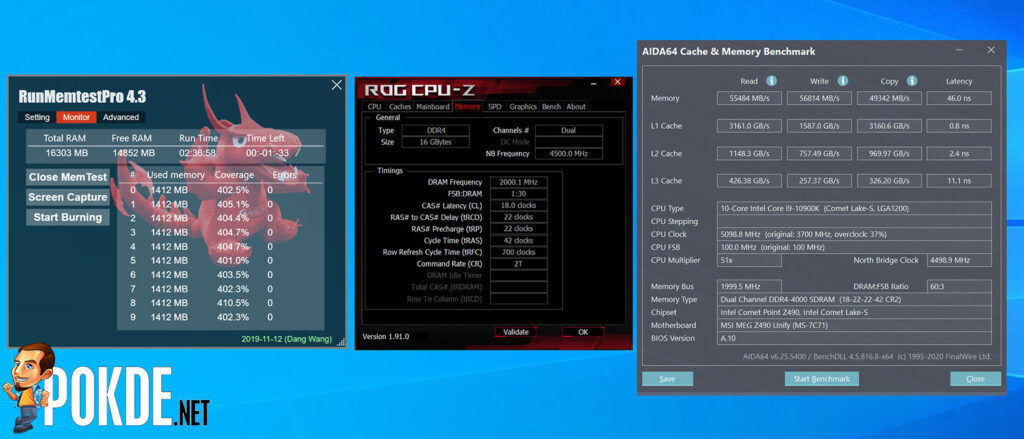 KLEVV BOLT XR Review DDR4 4000MHz overclock