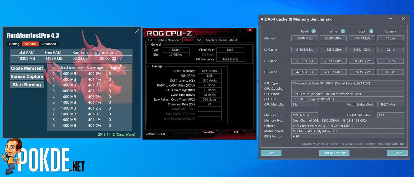 KLEVV CRAS XR RGB 3800MHz CL18 OC