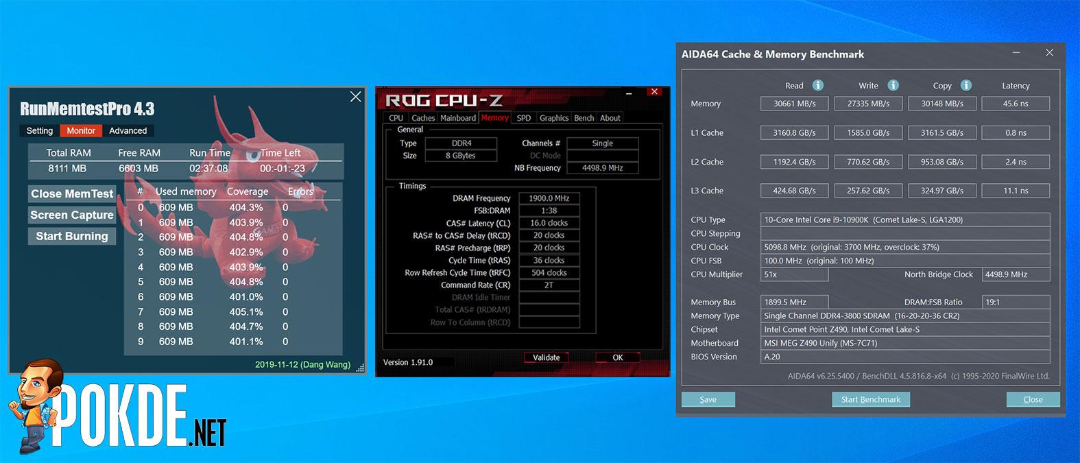 PNY XLR8 EPIC-X RGB DDR4-3800 CL16