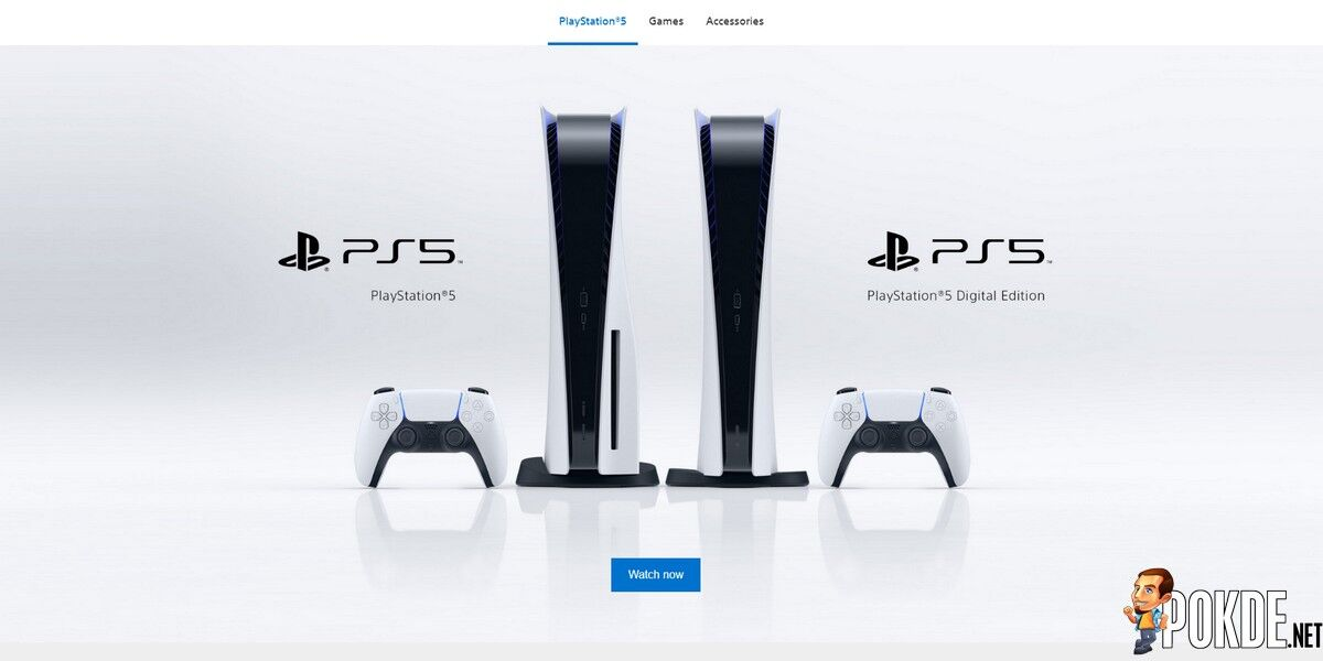 PS5 Southeast Asia now