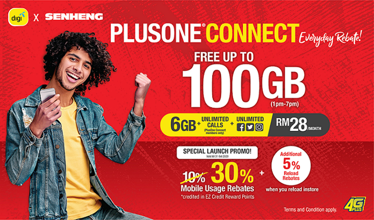 Digi Partners With Senheng In Introducing PlusOne Connect Plan 22