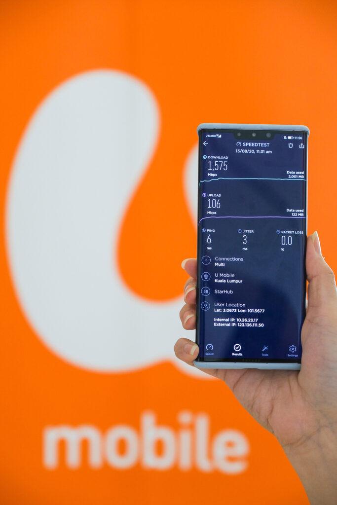 U Mobile Successfully Establish 5G Standalone Multi-Party Cross-Border Video Call With StarHub 22