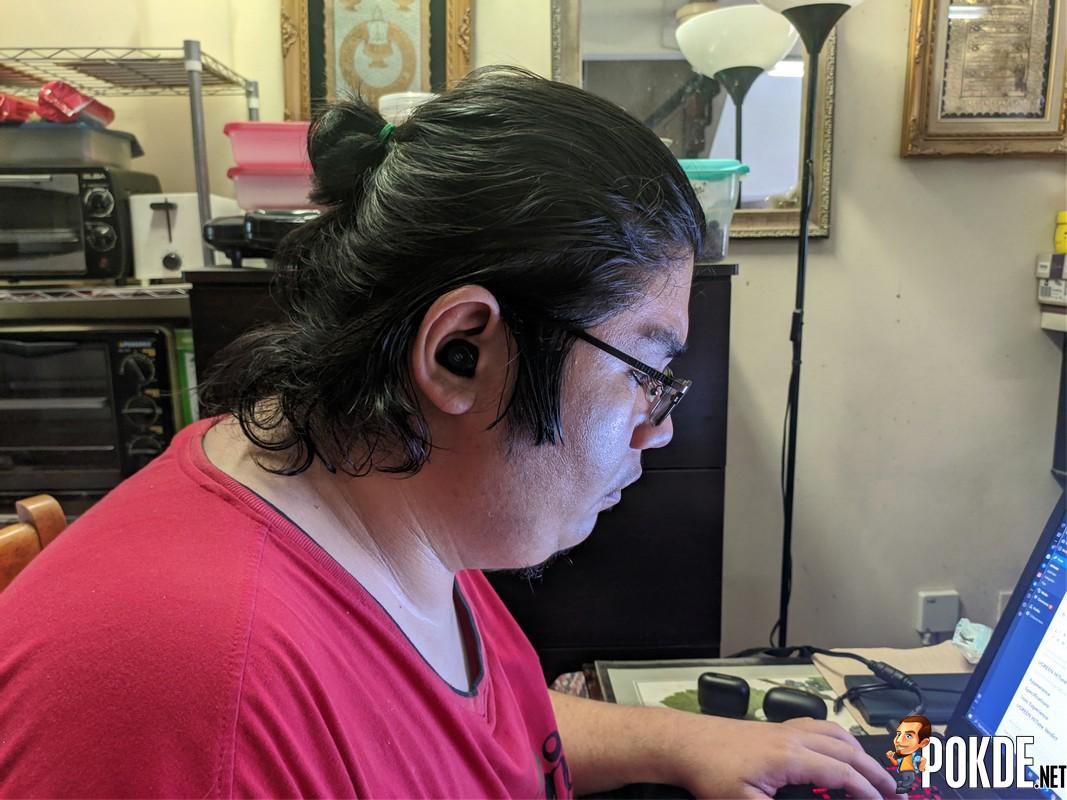 UGREEN HiTune TWS earbuds use