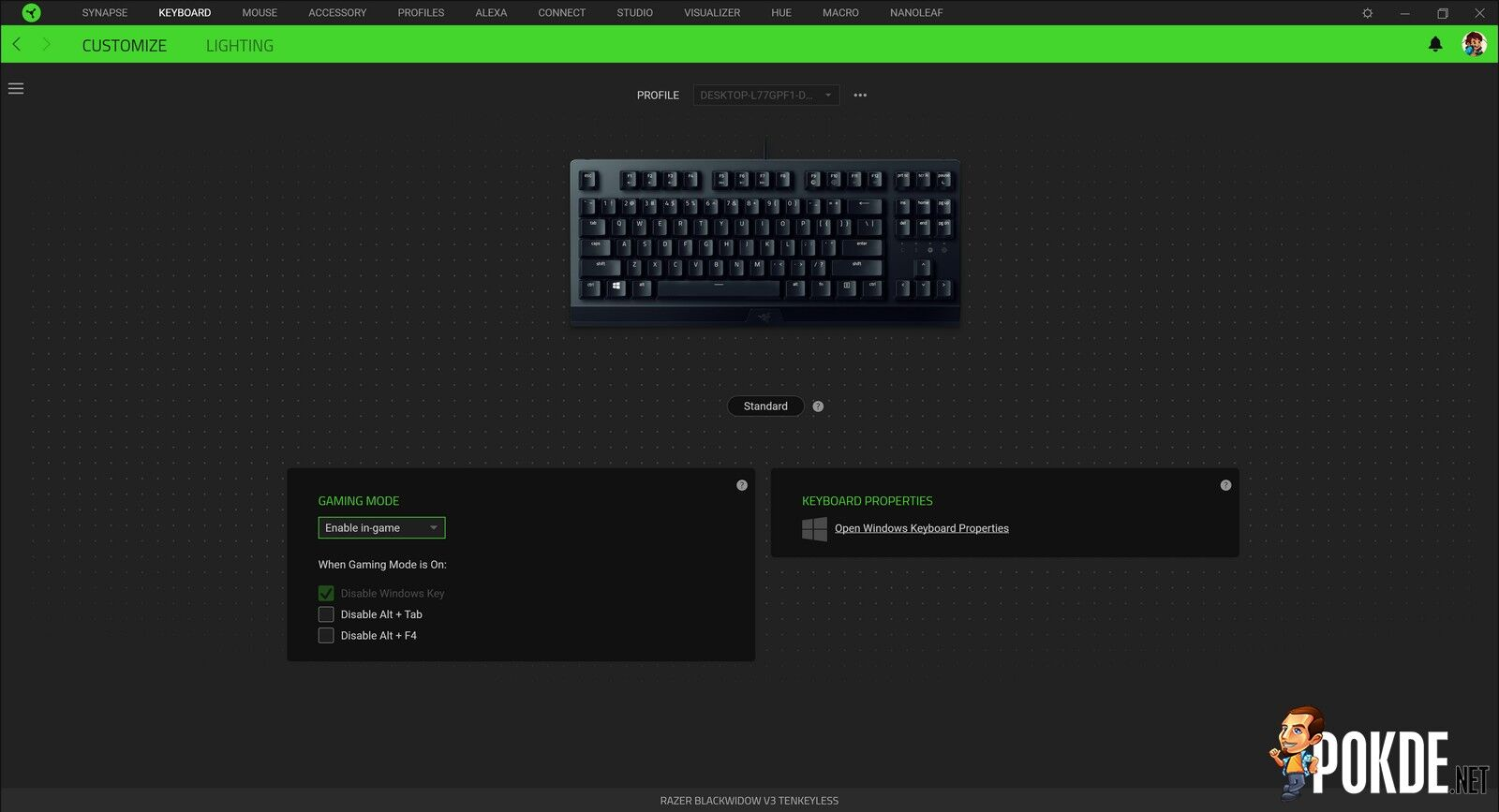 Razer BlackWidow V3 TKL Review - Simplicity Can Be a Pricey Key 26