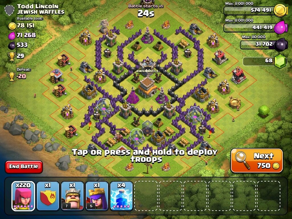 #PokdePicks Best Apps and Games in Mobile History Clash of Clans