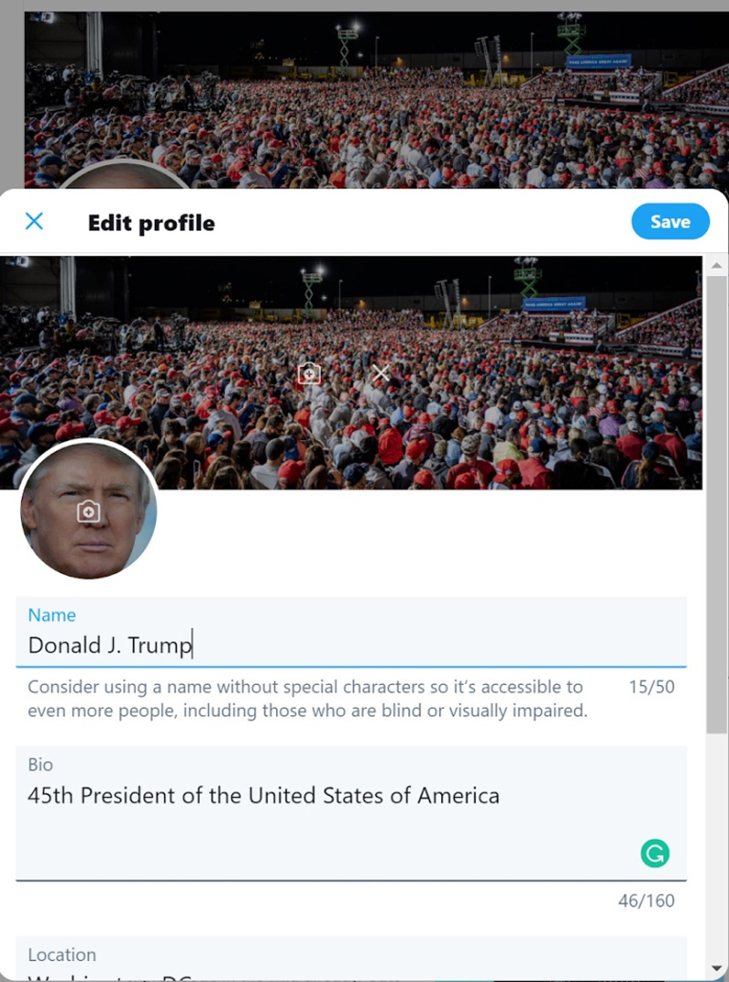 Security Specialist Easily Guessed Donald Trump's Twitter Password 22