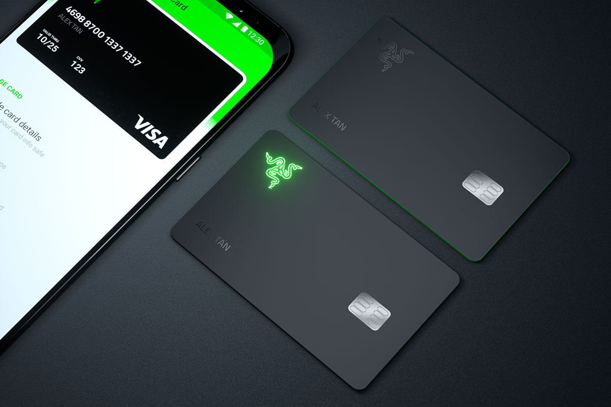razer card physical standard premium
